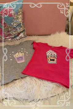 2 coole shirts van Zeeman maat 98/104