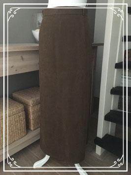 Bruine lange rok van Gerry Weber - Maat 46