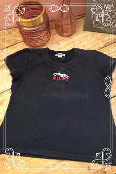 Donkerblauw TinTin shirt-maat 122