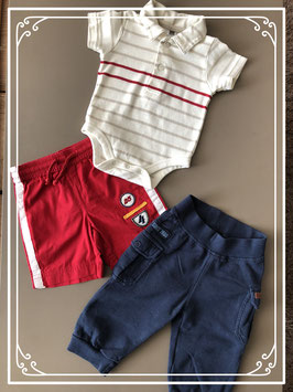 Hema & Name it set kleding 3 STUKS - maat 62