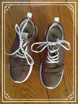 Gemetalliseerde sneakers - maat 39