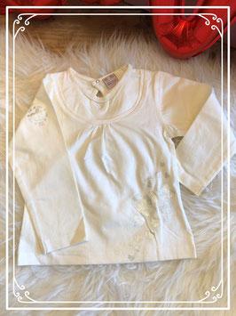 Wit shirt van het merk Pirouette in maat 86