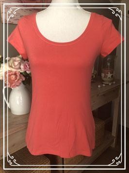 Rood/roze T-shirt van de Hema - Maat S
