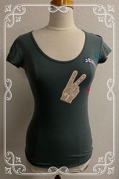 Stoer groen shirt van Only maat M