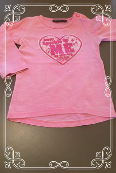 roze shirtje van bakkaboe - maat 86