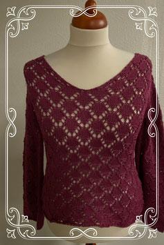 Nieuw! Mooie cerise kleurige trui van Miss Etam maat M