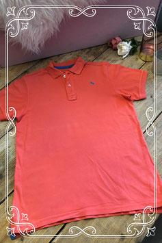 Rode polo van H&M - Maat 158-164