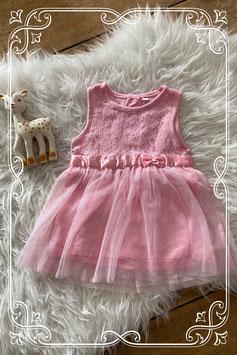 Prachtig roze jurkje - maatje 74