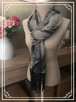 Blauw met grijze sjaal van Superstar
