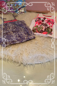 2 schattige hemdjes van Cars Jeans en Little Feet - maat 86