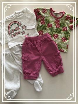 4 delige kleding set - Maat 68