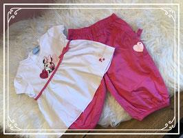 2delige kledingset van Minnie Mouse - Maat 98
