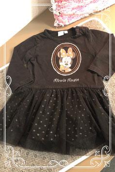 Zwart jurkje van Disney babay - maat 80