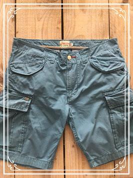 Korte blauwe broek - maat 32