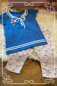 2 delige kledingset - Maat 134/140