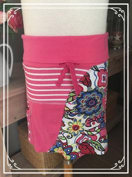 Kleurrijke rok van D-Zine Jeans - Maat 152-158
