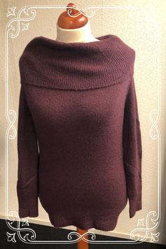 Diep paarse trui van MarCollection maat XL