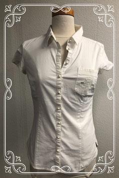Gebroken witte blouse van Mika for JBC maat 40