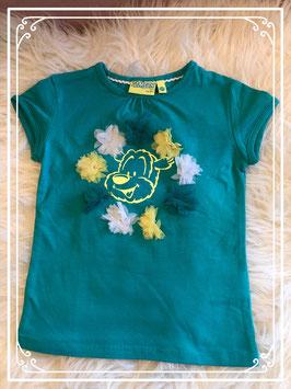 Groen/blauw T-shirt met SAMSON van jbc - Maat 104