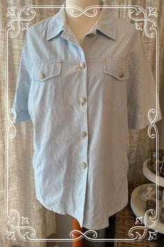 Lichtblauwe blouse van het merk Weekend by Basler - maat 46