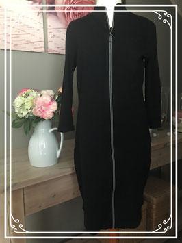 Veelzijdige zwarte jurk/vest van COOLCAT - Maat XS