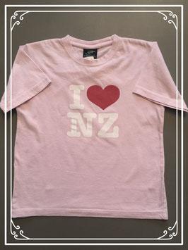 Roze T-shirtje van het merk Prokiwi - maat 122-128