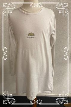 Lang wit pyjama shirt van FX 614 maat 140