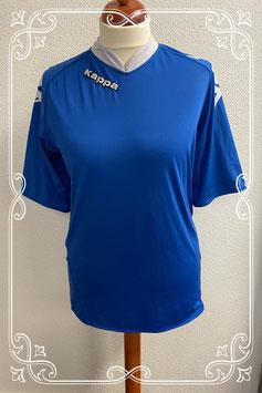 Blauw met grijs shirt van Kappa maat L