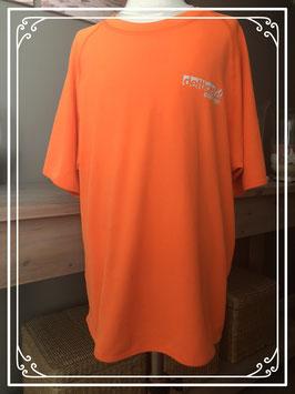 Oranje sport shirt van het merk Santino - maat S