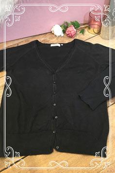 Zwart vestje van Yessica basics by C&A - maat m