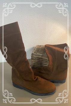 Nieuw! Lange bruine laarzen van Catja maat 41