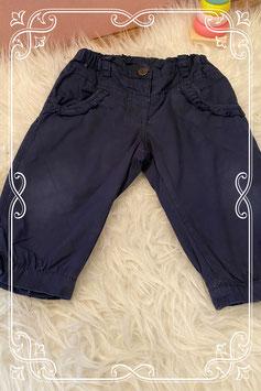 Donkerblauw gevoerd broekje van Frendz - Maat 68