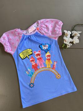Vrolijk shirt van Mim-Pi in maat 152