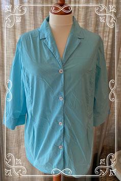Lichtblauwe blouse van het merk Linea il Mare - maat 50