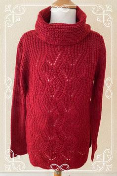 Nieuw! Warme rood gehaakte trui van C&A maat 158/164