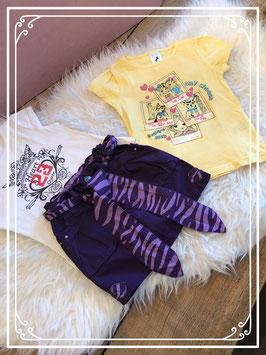 3delige kleurrijke kledingset - Maat 104