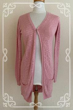 Leuk roze vest van Teen Girls maat 170