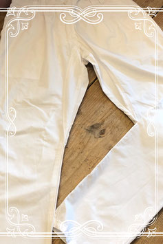 Witte katoenen broek van Beware - Maat 146
