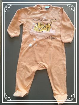 Oranje slaappakje van Disney met tijgertje - maat 80
