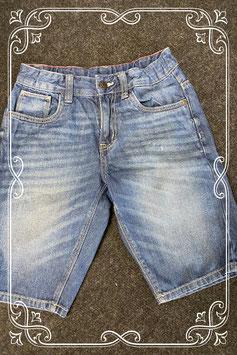 Korte spijkerbroek van C&A in maat 146