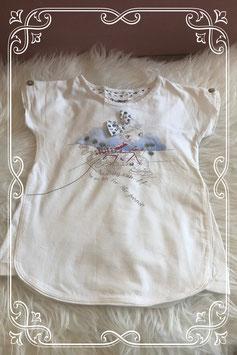 Wit korte mouwen shirt met print van Mayoral - Maat 104