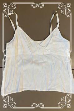 Elegante witte top van Jean Paul in maat 44