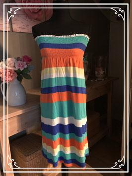 Kleurrijke jurk van GARCIA - Maat M