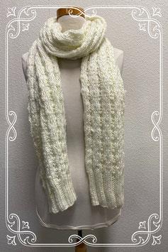 Gebroken witte sjaal voor dames