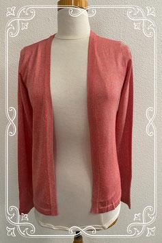 Nieuw! Zalmroze/rood gekleurd vest van Mar Collection maat 36