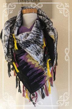 Vrolijke en kleurrijke sjaal