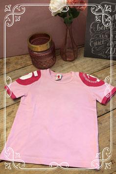 Roze shirt van bikkembergs-maat 110