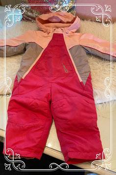 Nieuw! Skipak roze van Lupili maat 74/80