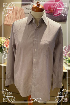 Nette paars met witte blouse van John Cabot maat L
