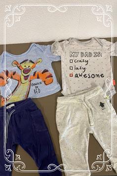4-delige set met items van Hema & Noppies & Disney Baby & Babyface in maat 62